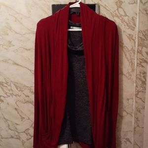 Pixley BEAUTIFUL BURGANDY Cardigan